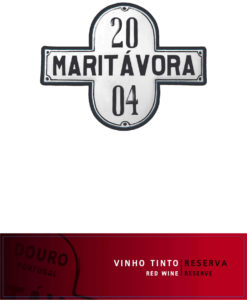 Maritávora-Reserva-Red-2004-Rótulo