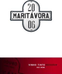 Maritávora-Reserva-Red-2006-Rótulo