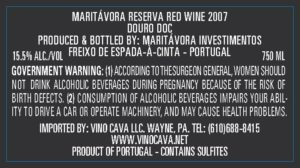 Maritávora-Reserva-Red-2007