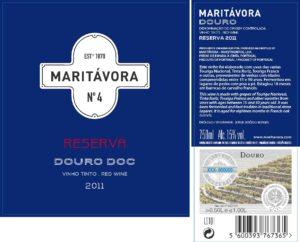 Maritávora-Reserva-Red-2011-Rótulo