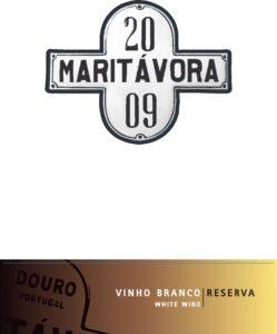 Maritávora-Reserva-White-2009-Rótulo