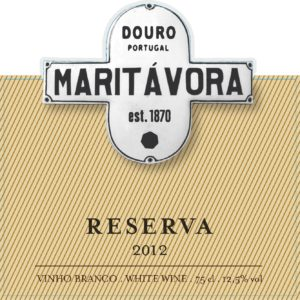 Maritávora-Reserva-White-2012-Rótulo