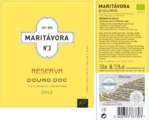 Maritávora-Reserva-White-2013-Rótulo